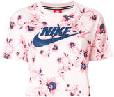 Nike cropped logo T-shirt