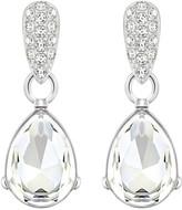 Swarovski Water Drop Pierced Earrings