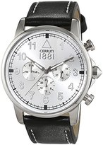 Cerruti Men's Watch Terra Analogue Quartz Leather CRA081A212G