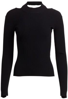 Helmut Lang V-Back Sweater