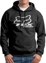 Sarah Men's Fox Racing Logo Hoodie L