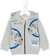 Kenzo lion print hoodie