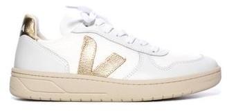 Veja V-10 Sneaker White Gold