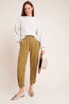 Anthropologie Jackson Tapered Utility Pants