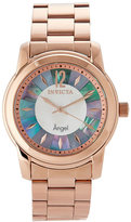 Invicta 12631 Rose Gold-Tone Angel Collection Watch