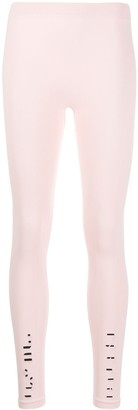 Unravel Project Ribbed Knit Stretch Leggings