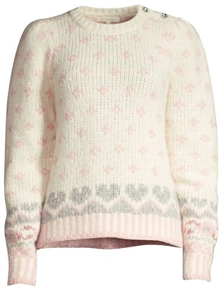 LoveShackFancy Rosie Knit Sweater