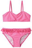 Girls 7-16 SO® Foil Heart Bikini Swimsuit Set