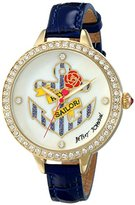 "Betsey Johnson Women's BJ00419-02 ""Hey Sailor"" Gold-Tone Watch"