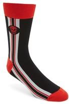 Alexander McQueen Men's Military Ribbon Socks