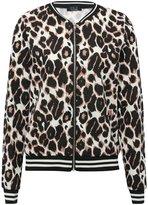 M&Co Leopard bomber jacket