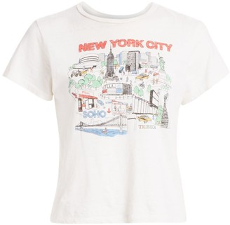 RE/DONE New York City Graphic Tee