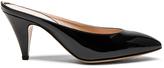 Mansur Gavriel Patent Leather Heel Slippers