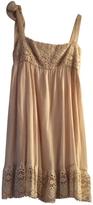 Valentino Ecru Cotton Dress