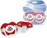 Baby Fanatic Ohio State Buckeyes OSU NCAA Baby Pacifier - 2 Pack
