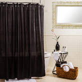 Splash Home Ella Microfiber Shower Curtain