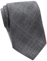 John Varvatos Plaid Wide Tie