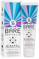 Mineral SPF 30 Tinted Face Sunscreen Lotion by Bare Republic (1.7oz Sun Lotion)