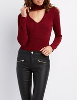 Charlotte Russe Floating Turtle Neck Top