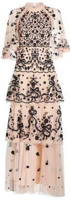 Needle & Thread Caped Bonnie Bow Gown