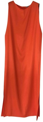 Dusan Orange Dress for Women