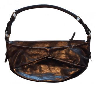Saint Laurent Brown Leather Handbags