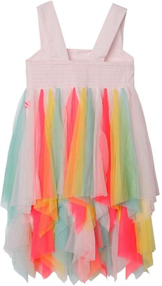 Billieblush Girls Multi Colour Hanky Hem Strap Dress - Multi