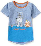 Egg by Susan Lazar Baby/Little Boys 12 Months-4T Joshua Robot Graphic Tee