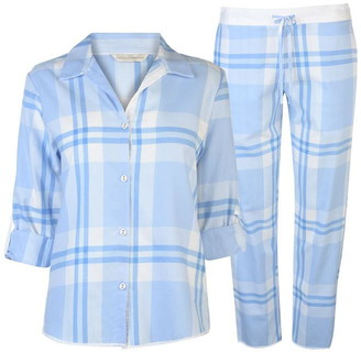Cyberjammies Checked Pyjama Set Womens