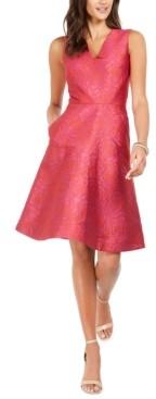 Natori N Rose Jacquard Dress