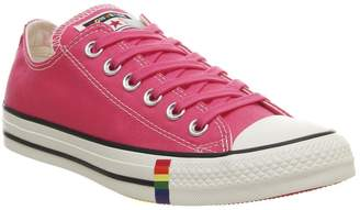 Converse All Star Low Trainers Strawberry Jam Egret Rainbow Exclusive
