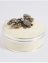 M&S Collection Bee Resin Trinket Box