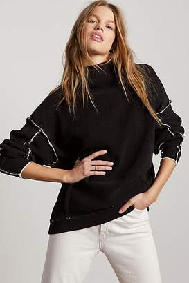 Free People City Life Sweater by Free People, Black, XS