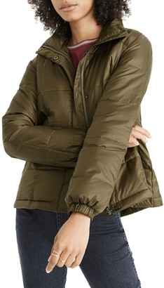 Madewell Travel Buddy Packable Puffer Jacket