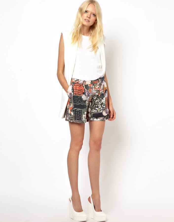Emma Cook Printed Shorts