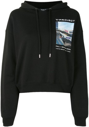 Y/Project Photograph Long-Sleeve Hoodie