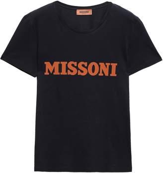 Missoni Printed Cotton-jersey T-shirt