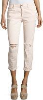 Joe's Jeans Billie Cropped Boyfriend Jeans, Porcelain