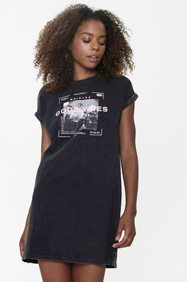 Forever 21 Good Vibes Graphic T-Shirt Dress