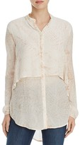 XCVI Zoey Layered Tunic Blouse