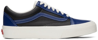 Vans Blue and Black OG Old Skool VLT LX Sneakers