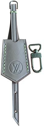 Louis Vuitton Brown Cloth Bag charms