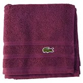 Lacoste Croc Hand Towel, One Size, Concord