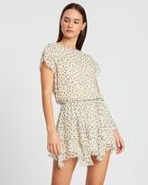 SIR the Label Isabella Ruffle Mini Dress