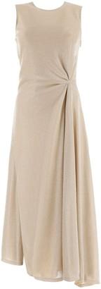 Lanvin Sleeveless Draped Dress