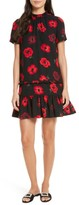 Kate Spade Women's Ruffle Poppy Shift Dress