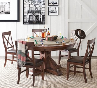 Pottery Barn Benchwright Round Poker Table