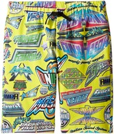Moschino Kids - All Over Logo Print Shorts Boy's Shorts