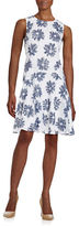 Tommy Hilfiger Floral Drop Waist Dress