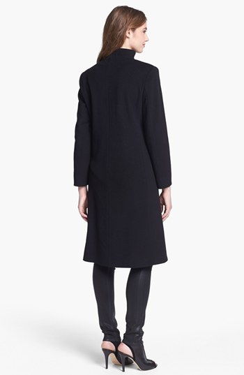 Cinzia Rocca Due Funnel Neck Wool & Cashmere Blend Walking Coat (Petite)